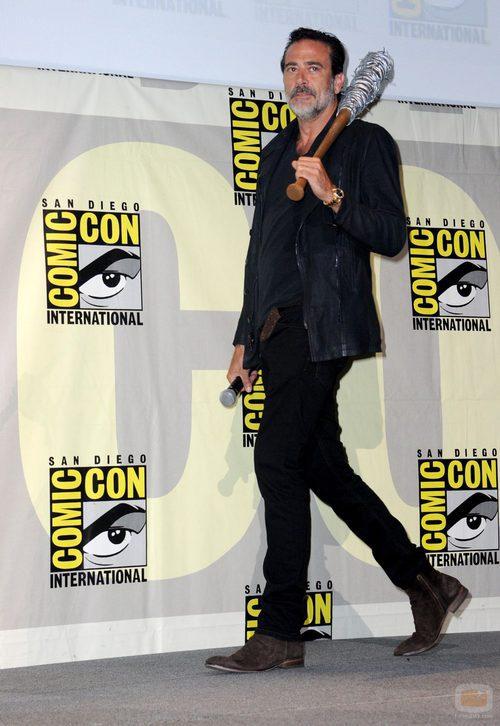 Jeffrey Dean Morgan de visita en la  'Comic Con'
