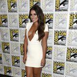 Lea Michelle, radiante en la 'Comic Con'