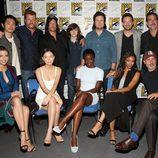 El elenco de 'The Walking dead' en la 'Comic Con'