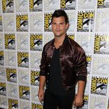 El actor Taylor Lautner en su visita a la 'Comic Con'