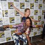 Keke Palmer y Billie Lourd en la 'Comic Con'