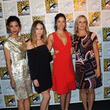 Las actrices de 'Fear The Walking Dead' en la 'Comic Con'