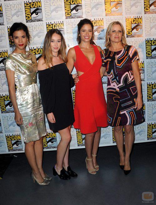 Las actrices de 'Fear The Walking Dead' en la 'Comic Con'