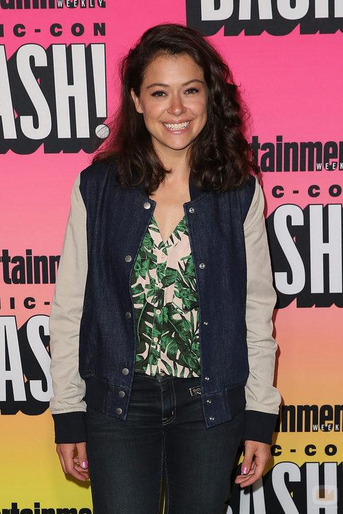 Tatiana Maslany visita la 'Comic-con'