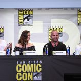 La mesa de 'Prison Break' en 'Comic-con'