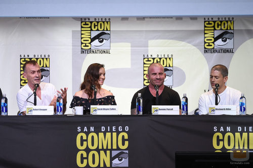 La mesa de 'Prison Break' en 'Comic-con'