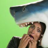"""Silvia Abril a punto de ser engullida por un tiburón en """"Sharknado 4"""""""