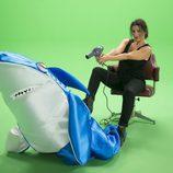 "Silvia Abril seca a un tiburón en el 'casting' de ""Sharknado 4"""