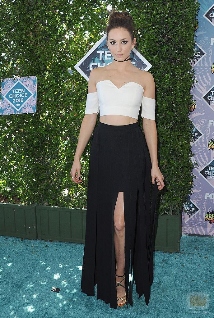 Troian Bellisario en los Teen Choice Awards