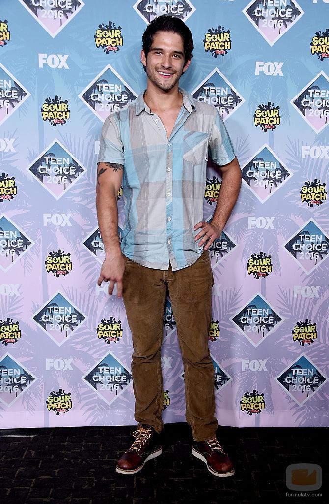 Tyler Posey en los Teen Choice Awards