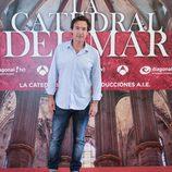Ginés García Millán en la presentación de 'La catedral del mar'