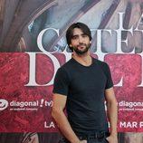 El actor Aitor Luna en la presentación de 'La catedral del mar'