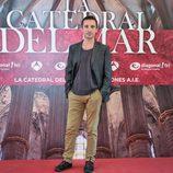 Pablo Derqui en la presentación de 'La catedral del mar'