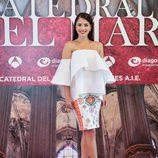 La actriz Andrea Duro en la presentación de 'La catedral del mar'