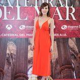 Natalia de Molina en la presentación de 'La catedral del mar'