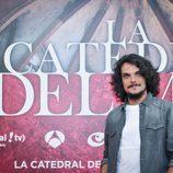 Críspulo Cabezas en la presentación de 'la catedral del mar'