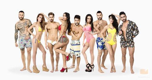 Los participanes de la segunda temporada de 'MTV Super Shore'