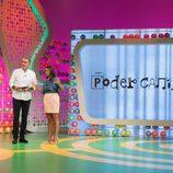 Juan y Medio y Elena Furiase presentan 'Poder Canijo'