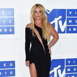 Britney Spears en la gala de los VMA 2016 de la MTV