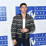 Nick Jonas en la gala de los VMA 2016 de la MTV