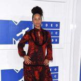 Alicia Keys en la gala de los VMA 2016 de la MTV