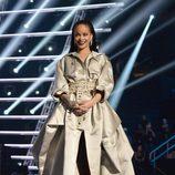 Rihanna en la gala de los VMA 2016 de la MTV