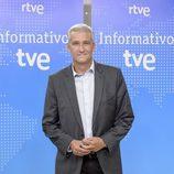 Víctor Arribas en la presentación de los informativos 2016-2017 de TVE