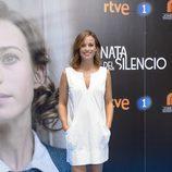 Marta Etura en la presentación de 'La sonata del silencio' en el FesTVal de Vitoria