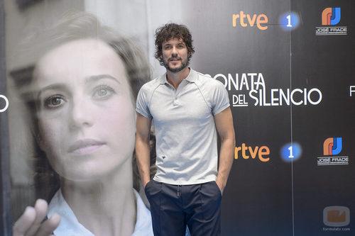 Daniel Grao en la presentación de 'La sonata del silencio' en el FesTVal de Vitoria
