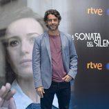 Eduardo Noriega en la presentación de 'La sonata del silencio' en el FesTVal de Vitoria