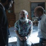 Rubén Cortada y Pepe Viyuela interrogan a Emilio Gavira en 'Olmos y Robles'