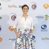 Rosa López en la presentación de 'Tu cara me suena' en el FesTVal 2016