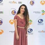 Beatriz Luengo en la presentación de 'Tu cara me suena' en el FesTVal 2016