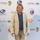 Juan Muñoz en la presentación de 'Tu cara me suena' en el FesTVal 2016