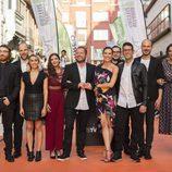 Raquel Sánchez Silva con los colaboradores de 'Likes' en el FesTVal 2016