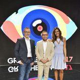 Jorge Javier, Jordi y Lara son el trío de presentadores de 'Gran Hermano 17'
