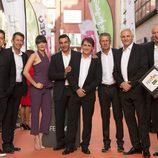 Los presentadores deportivos de #0 en el FesTVal 2016 de Vitoria