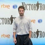 Carles Francino en la presentación de la segunda temporada de  'Víctor Ros' de RTVE