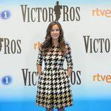 Paula Prendes en la presentación de la segunda temporada de 'Víctor Ros' en la presentación de RTVE