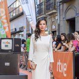 Paula Prendes en el preestreno de la segunda temporada de 'Víctor Ros'