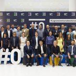 El equipo de #0 en la presentación del contenido del canal en el FesTVal