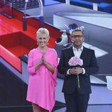 Mercedes Milá y Jorge Javier Vázquez inauguran 'GH17'
