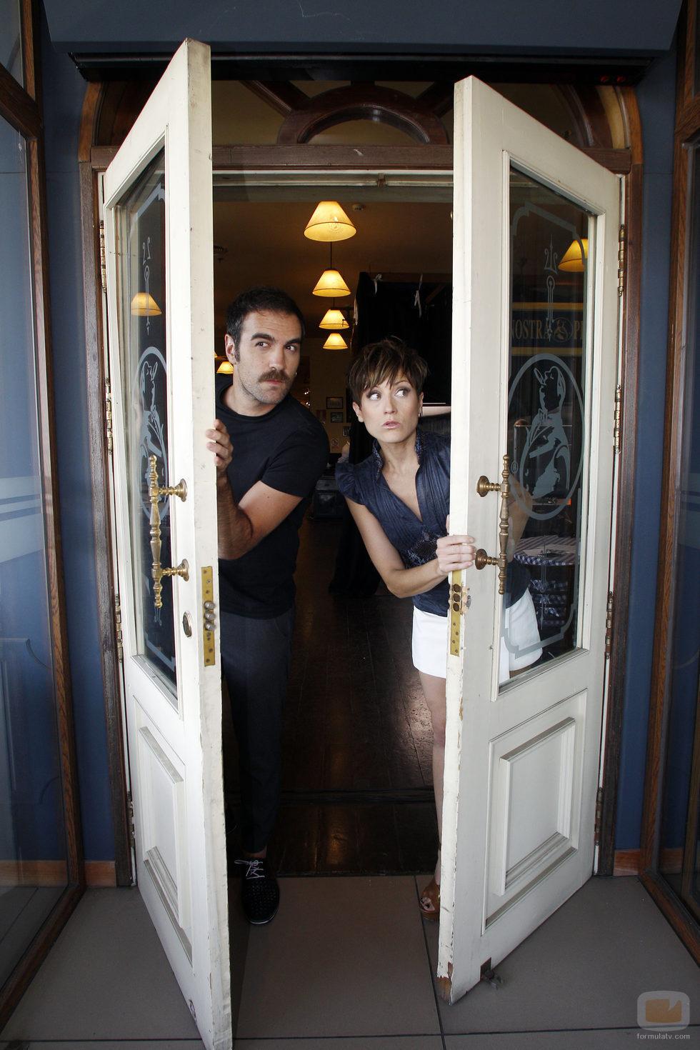Jon Plazaola y Sara Escudero en 'Sígueme el rollo'