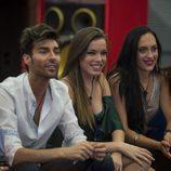 Montse, Miguel, Meritxell y Laura en 'Gran hermano 17'
