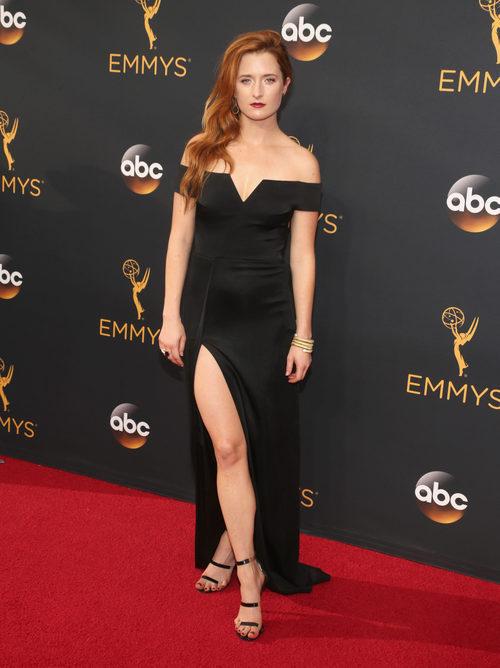 Garce Gummer en la alfombra roja de los Premios Emmy 2016