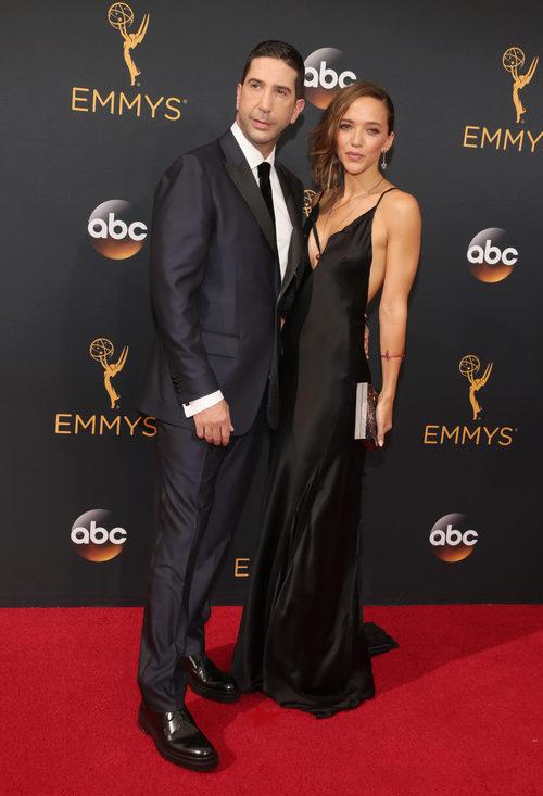 David Schwimmer en la alfombra roja de los Premios Emmy 2016