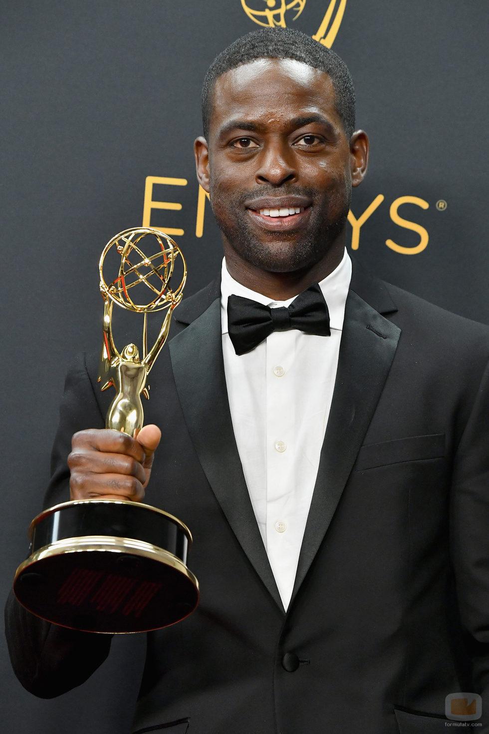 Sterling K. Brown, ganador de un Premio Emmy 2016