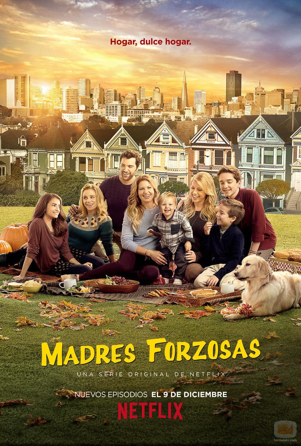 Póster oficial de la 2ª temporada de 'Madres forzosas'