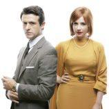 Diego Martín y Miriam Giovanelli en 'Velvet'
