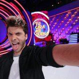 Blas Cantó se hace un selfie en 'Tu cara me suena 5'